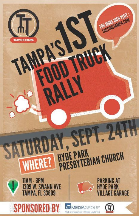 Tampa Food Truck Rally #1 – Tampa's First Food Truck Roundup
