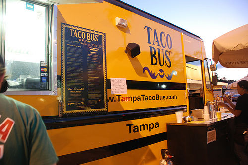 Tampa Taco Bus on Travel Channel's Man Vs. Food – September 28th