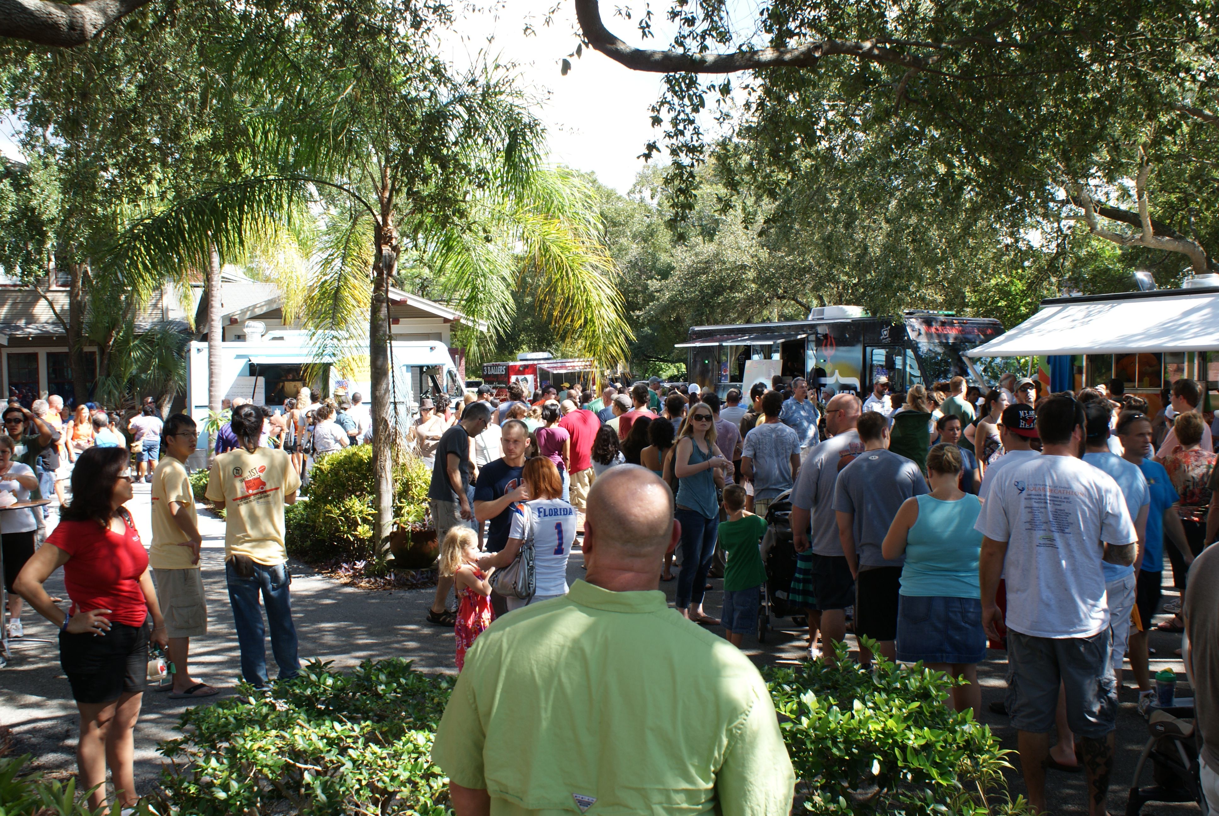 Tampa's First Food Truck Rally