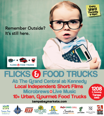 Flicks and Food Trucks next Thursday – 04/19
