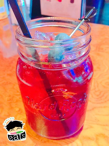 Summertime Blues drink