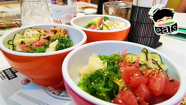 YO! Sushi Poke Bowls