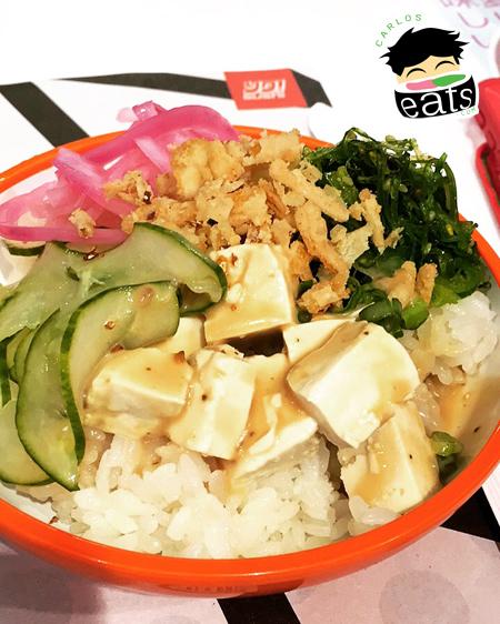 YO! Sushi Tofu Poke Bowl
