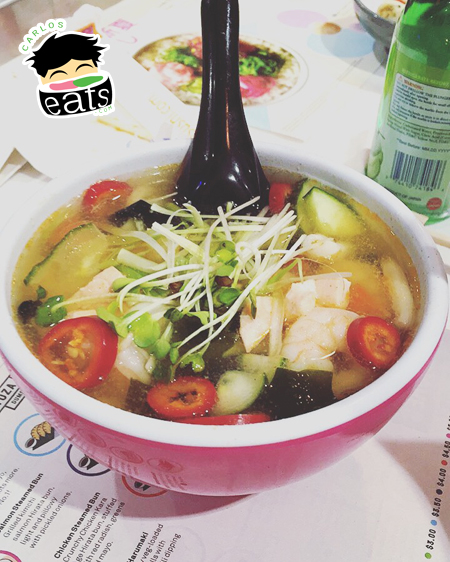 YO! Sushi Seafood Udon Noodles