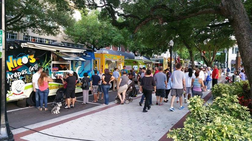Downtown Lakeland Food Truck Rally tonight!