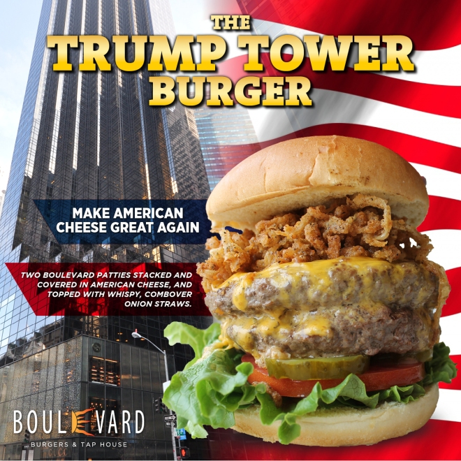 Trump Tower Burger