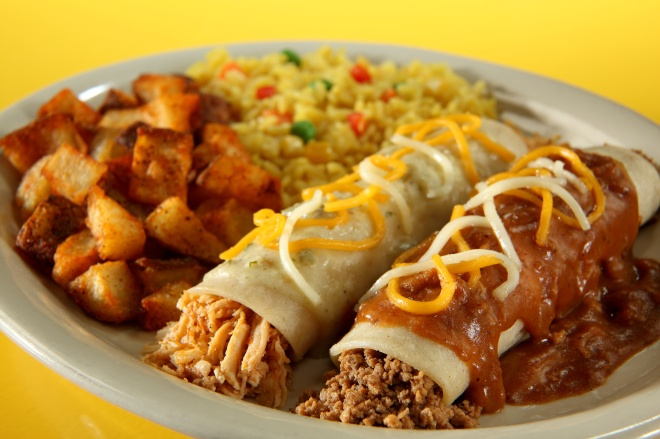 enchilada-platter
