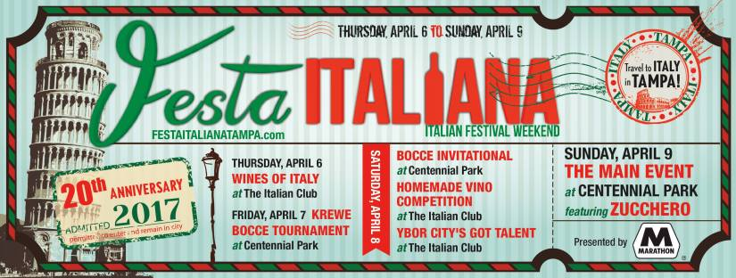 Festa Italiana 20th anniversary this weekend!