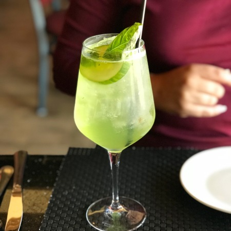 Cucumber Fizz at Roux Tampa