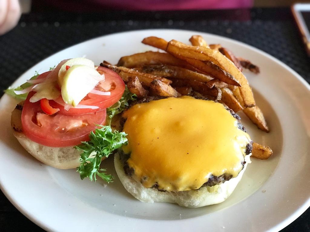 Steakburger at Roux Tampa