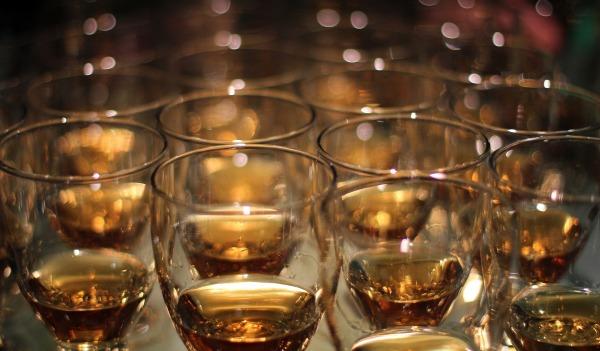 Whiskey glasses.