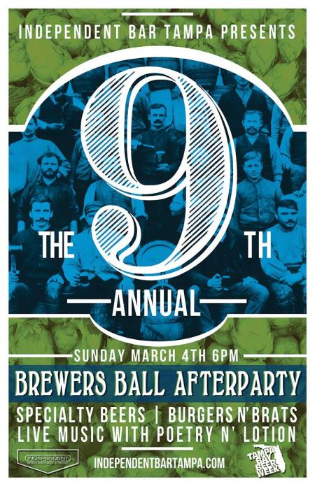 9th Annual Brewer's Ball After Party