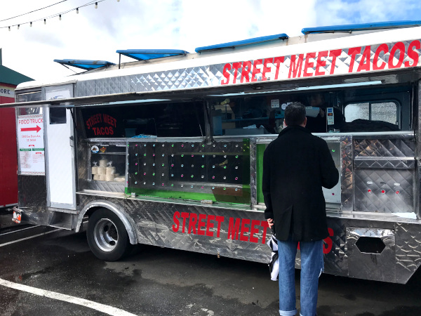 Street Meet Tacos Truck at SoMa StrEat Food Park in San Francisco.