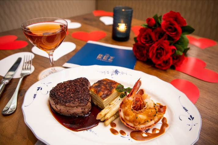 The Rez Grill Valentine's Day 2019 special in Tampa at Seminole Hard Rock Hotel & Casino