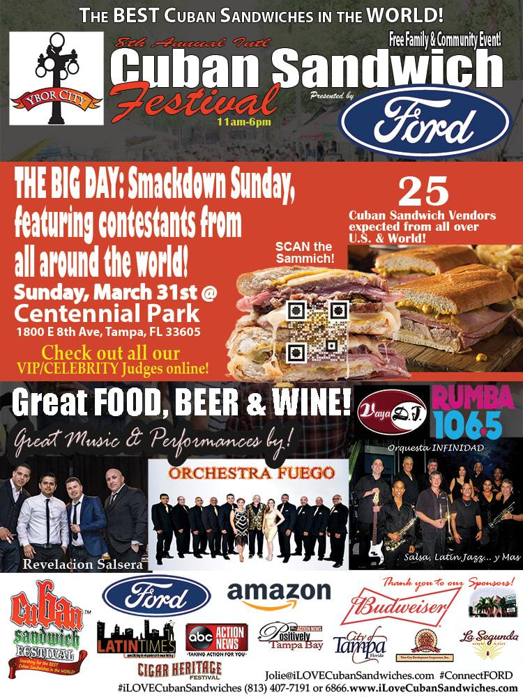 8th Annual International Cuban Sandwich Festival Coming