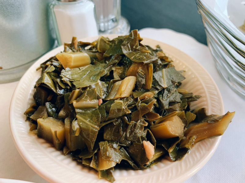 Collard Greens from Al's Finger Lickin' Good Soul Food