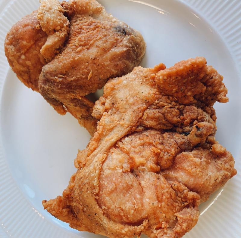 Fried Chicken at Al's Finger Lickin' Good SOul Food